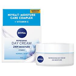 Osvěžující denní krém pro normální pleť SPF 8 (Refreshing Day Cream SPF 8 24H Moisture) 50 ml