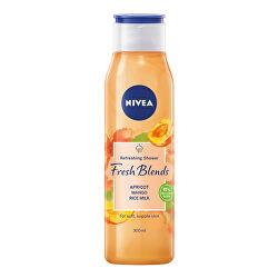 Osvěžující sprchový gel Fresh Blends Apricot, Mango, Rice Milk (Refreshing Shower) 300 ml