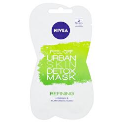 Slupovací zjemňující maska Urban Skin Detox (Detox Mask) 2 x 5 ml