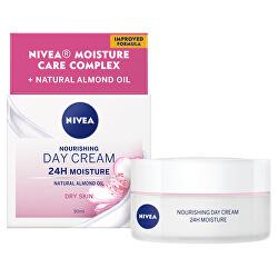 Výživný denní krém pro suchou pleť SPF 8 24H Moisture (Nourishing Day Cream) 50 ml