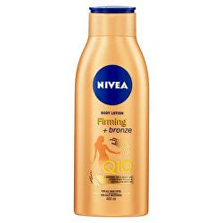 Zpevňující tónovací tělové mléko Q10 Firming + Bronze (Body Lotion) 400 ml