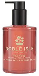 Gel de duș și baieTea Rose(Bubble Bath & Shower Gel) 250 ml
