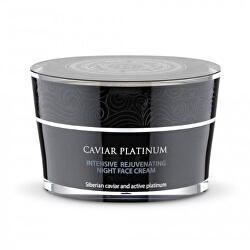 Omladzujúci nočný krém Caviar Platinum (Night Face Cream) 50 ml