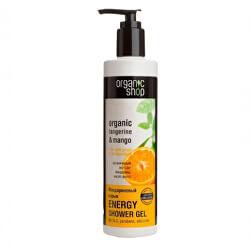 Energizující sprchový gel Organic Tangerine & Mango (Energy Shower Gel) 280 ml