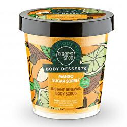 Tělový cukrový peeling Body Desserts Mango Sugar Sorbet (Body Scrub) 450 ml