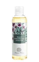 Tělový a masážní olej Celulitida 200 ml