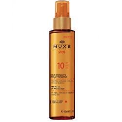Bronzující olej na opalování na obličej a tělo Sun SPF 10 (Tanning Oil Low Protection) 150 ml