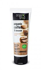 Jemný pleťový peeling Káva a schizandra (Soft Face Gomage) 75 ml