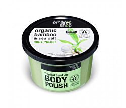 Tělový peeling Bambus a mořská sůl (Body Polish) 250 ml