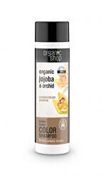(Glowing Color Shampoo) 280 ml jojoba és orchidea sampon a ragyogó színért