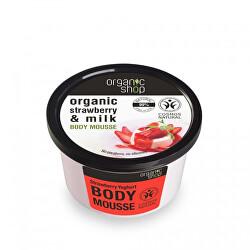 Tělová pěna Jahody a jogurt (Body Mousse) 250 ml