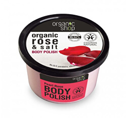 Tělový peeling Růže a sůl (Body Polish) 250 ml