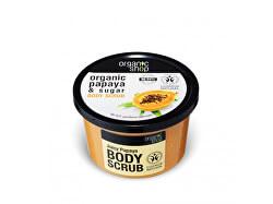 Tělový peeling Šťavnatá papaya (Body Scrub) 250 ml