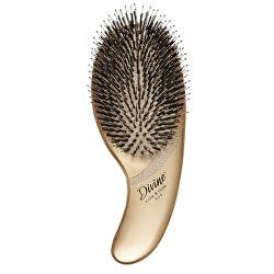 Zlatý kartáč na vlasy Divine Care & Style