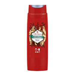 Sprchový gel na tělo i vlasy Bear Glove (Shower Gel + Shampoo) 250 ml