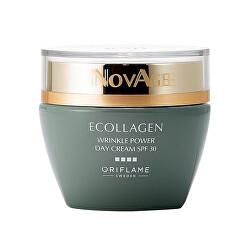 Denný vyhladzujúci krém proti vráskam NovAge Ecollagen Wrinkle Power SPF 30 (Wrinkle Smoothing Day Cream SPF 30) 50 ml