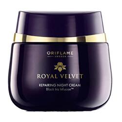 Obnovujúci nočný krém Royal Velvet (Repairing Night Cream) 50 ml