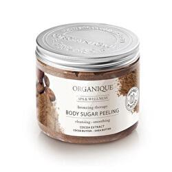 Cukrový tělový peeling Chocolate (Body Sugar Peeling) 200 ml