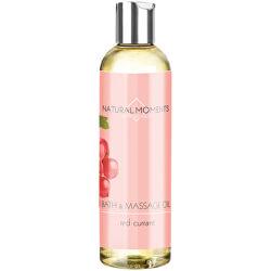 Koupelový a masážní olej Natural Moments Red Currant (Bath & Massage Oil) 250 ml
