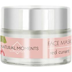 Posilňujúci maska pre všetky typy pleti Natura l Moments Red Currant (Face Mask) 50 ml
