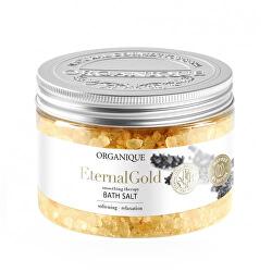 Relaxační koupelová sůl Eternal Gold (Bath Salt) 600 g