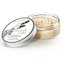 Vyhlazující cukrový tělový peeling Eternal Gold (Body Sugar Peeling) 200 g