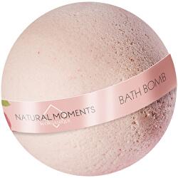 Vyživující šumivá bomba do koupele Natural Moments Red Currant (Bath Bomb) 170 g