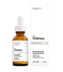 Antioxidačné pleťové sérum Resveratrol 3% + Ferulic Acid 3% 30 ml