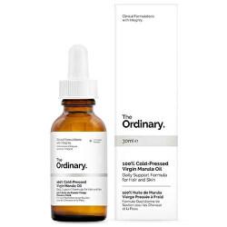 Hydratačný olej na pleť a vlasy 100% Cold-Pressed Virgin Marula Oil 30 ml