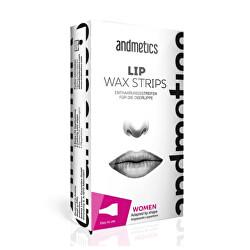 Depilační pásky na horní ret pro ženy (Lip Wax Strips For Women)