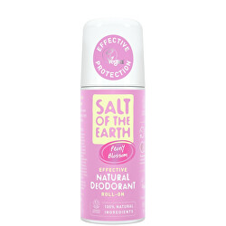 Přírodní kuličkový deodorant Peony Blossom (Natural Deodorant Roll-on) 75 ml