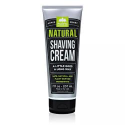 Pánský přírodní krém na holení Natural (Shaving Cream) 207 ml