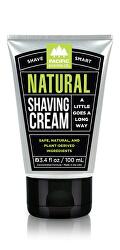 Pánsky prírodný krém na holenie Natura l (Shaving Cream) 100 ml