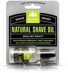 Pánsky prírodný olej na holenie Natura l (Shave Oil) 15 ml