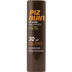 Balzam na pery s Aloe Vera SPF 30 (In Sun Lipstick Aloe Vera Extra Care) 4,9 g