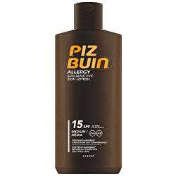 Mléko na opalování pro citlivou pokožku Allergy SPF 15 (Sun Sensitive Skin Lotion) 200 ml