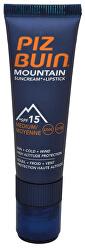 """Slnečný krém SPF 15 a ochranný balzam na pery SPF 30 2 v 1 (Mountain Combi """"2 in 1"""" Sun Cream a Lipstick) 20 ml + 2,3 ml"""