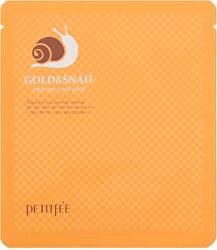 Hydrogelová pleťová maska se zlatem a hlemýždím extraktem Gold & Snail (Hydrogel Mask)