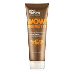 Kondicionér pro hnědé odstíny vlasů Wow! Brunette (Colour Illuminating Conditioner) 250 ml