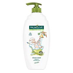 Mandlový sprchový gel pro děti s pumpičkou Naturals (Shower & Bath For Kids) 750 ml