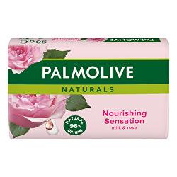 Tuhé mýdlo Naturals Nourishing Sensation Milk & Rose 6 x 90 g