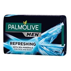 Tuhé mýdlo pro muže Refreshing 6 x 90 g