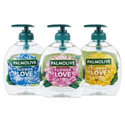 Tekuté mýdlo s květinovou vůní Flower Love 300 ml