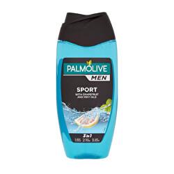 Revitalizující sprchový gel 3v1 s grapefruitem a mátou For Men (Sport 3 In 1 Body & Hair Shower Shampoo) 250 ml