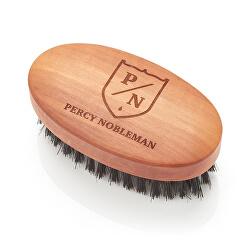Kartáč na vousy z hruškového dřeva a kančích štětin