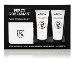 Pánska darčeková súprava starostlivosti o pleť a bradu (Face & Stubble Care Kit)
