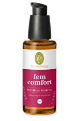 Vyrovnávající masážní olej pro ženy při menstruaci či hormonálních výkyvech Fem Comfort 50 ml