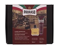 Dárková sada přípravků na holení Sandalwood Oil & Shea Butter