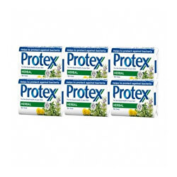 Antibakteriális szilárd szappan Herbal (Bar Soap) 6 x 90 g