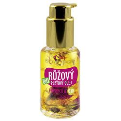 Bio Růžový pleťový olej s opuncií a Q10 45 ml